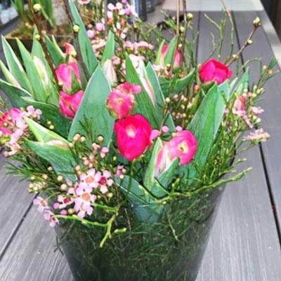 BlumenMarkt René de Clercq / Blumenstrauß