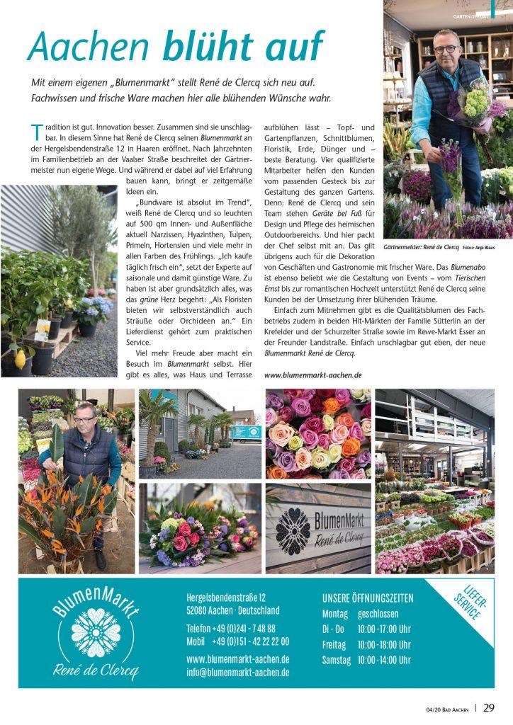 BlumenMarkt René de Clercq / Top Aachen