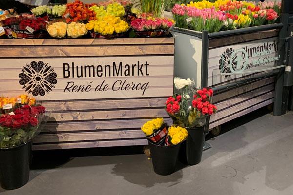 BlumenMarkt René de Clercq / Blumen- und Pflanzenhandel & Märkte